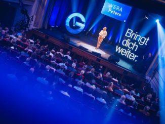 Vera Peters beeindruckt mit Abenteuervortrag bei GEDANKENtanken