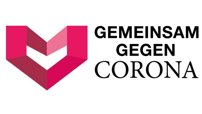 "Initiative gegen die Ausbreitung des Corona-Virus: ""GEMEINSAM GEGEN CORONA"""