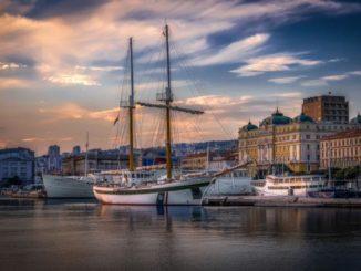 Das Hafenviertel Rijekas (Foto: Rijeka 2020/Arsen Miletic)
