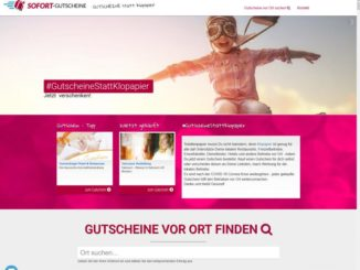 Screenshot Gutscheine-statt-Klopapier.de