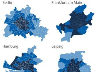 Gleiche Stadt, andere PLZ - Beitrag variiert um bis zu 21 Prozent