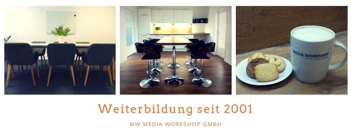 Media Workshop startet mit Online-Seminaren