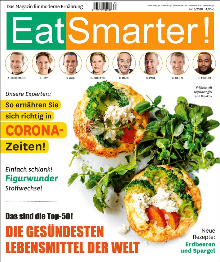 Aktueller Hefttitel EatSmarter! Heft 3/20