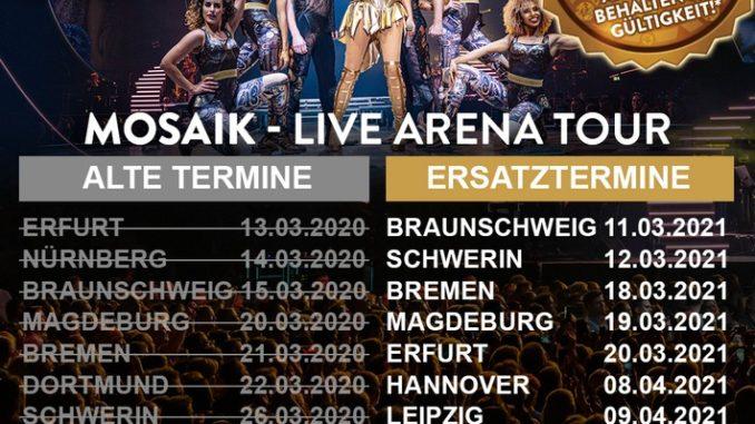 Andrea Berg: MOSAIK LIVE | Doppel-Live CD inkl. DVD mit Show-Highlights der Mosaik-Live Arena Tour
