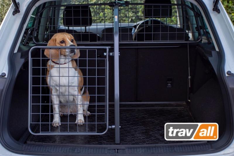 Hunde können durch eine Gitterkombination effektiv gesichert werden. © Travall