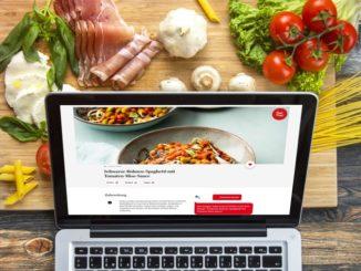 Kochen mit Voice-Funktion auf audiocooking.de
