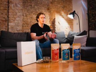 Gründer Marc präsentiert die innovativen Power Pops