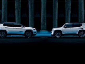 Jeep Renegade 4xe und Compass 4xe kommen zu den Händlern