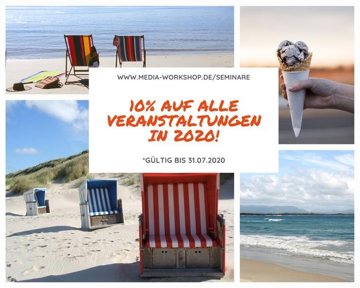 Sommeraktion 2020 der MW Media Workshop GmbH