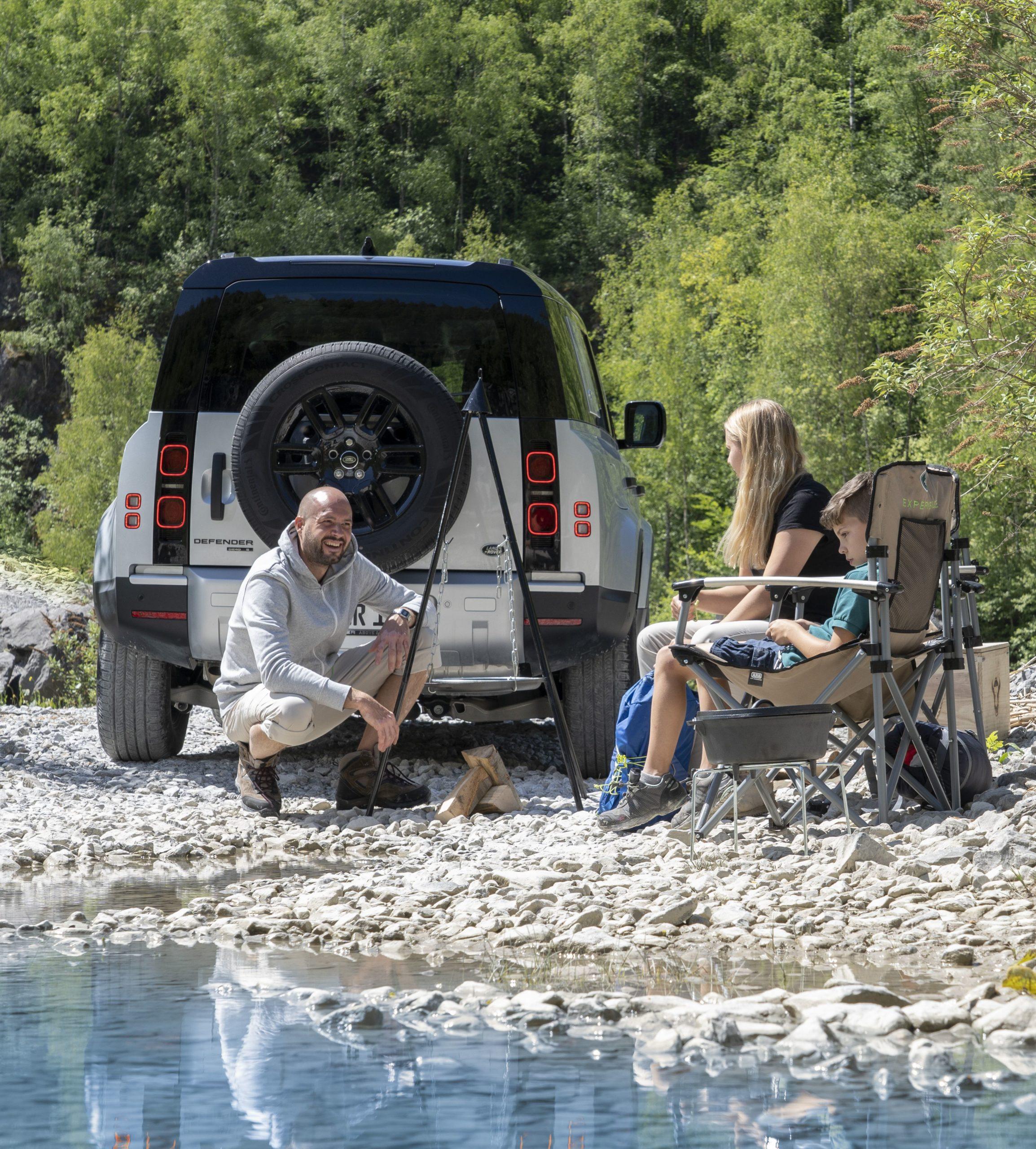 In Hamburg kann der neue Land Rover Defender gemietet werden