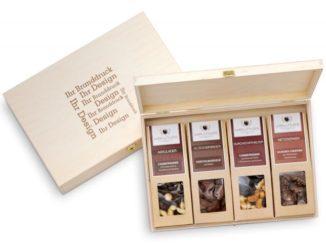 Gesund, lecker, nachhaltig – die Premium Snacks von wellnuss, neu auf www.brilliant-promotion.com.