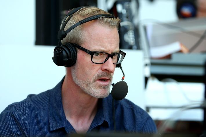 ZDF-Triathlon-Reporter Marc Windgassen