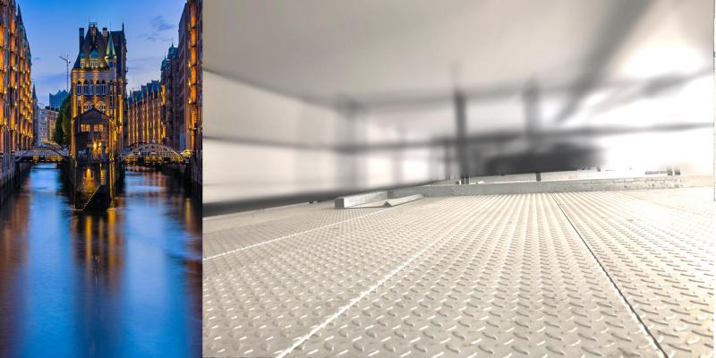 Bild: doubleXParker® XP 03 class - schräge Doppelparker, Doppelplattform im Open-Space-Design