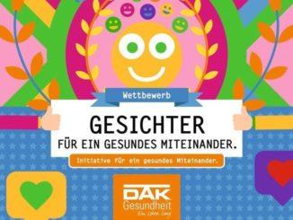 """Gesundheitsminister Heiner Garg und die DAK-Gesundheit starten neuen Wettbewerb """"Gesichter für ein gesundes Miteinander"""" in Schleswig-Holstein."""
