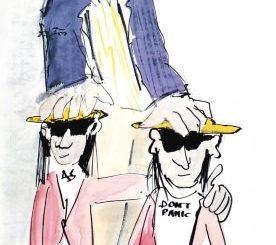 Udo Lindenberg & Manfred Messer - Zwei Malerfreunde