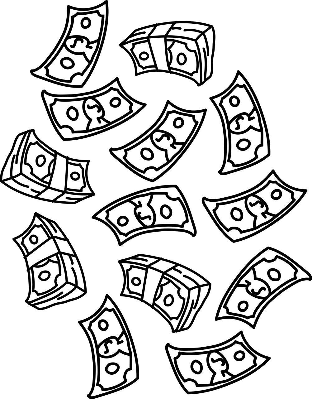 Es regnet Taler - oder gerne auch Dollar