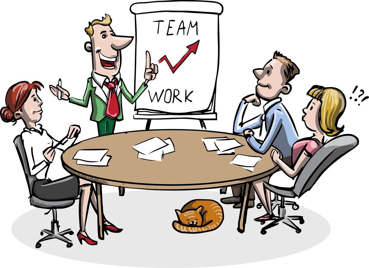 Nicht nur Teamwork im Office ist offensichtlich effizient