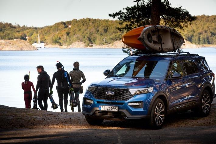 Ford und Komoot helfen mit Outdoor-Routen, dem Alltag zu entfliehen