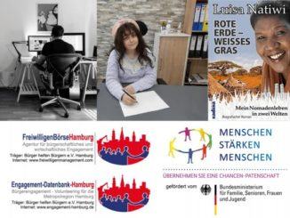 Bürger helfen Bürgern e.V. Hamburg: Homeoffice, Elina Princeataia, Luisa Natiwi