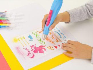 Kreativ malen und sprühen Mit dem Peach Airbrush Pen