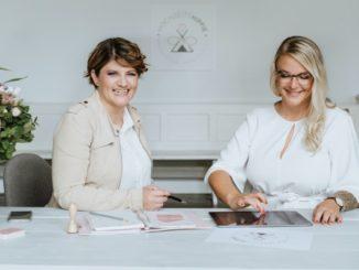 Jenny und Sarah, innovative Hochzeitsplanerinnen für individuelle Hochzeiten