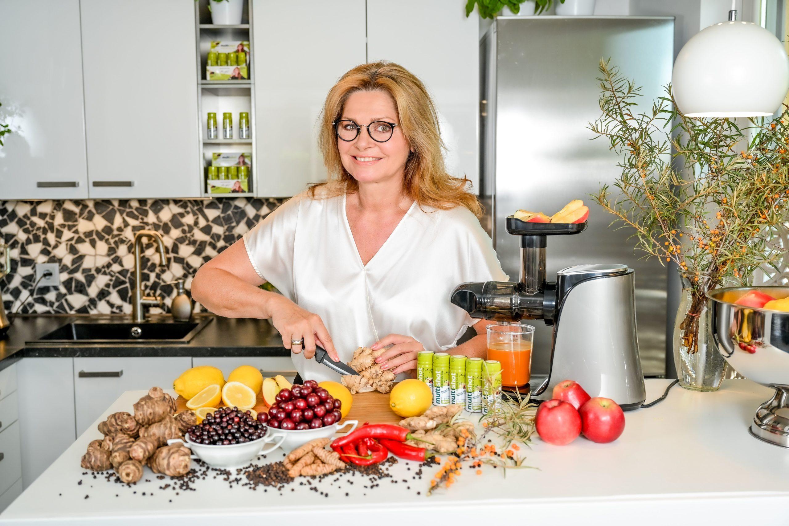 Interview mit Maren Gilzer: Unternehmensgründung, Gesundheit, Ernährung