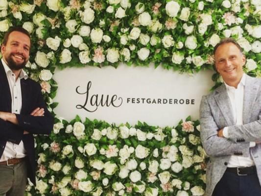 Henning Jürgensen, GF Laue Festgarderobe und Olaf van den Brink, Managing Sales Director Pronovias