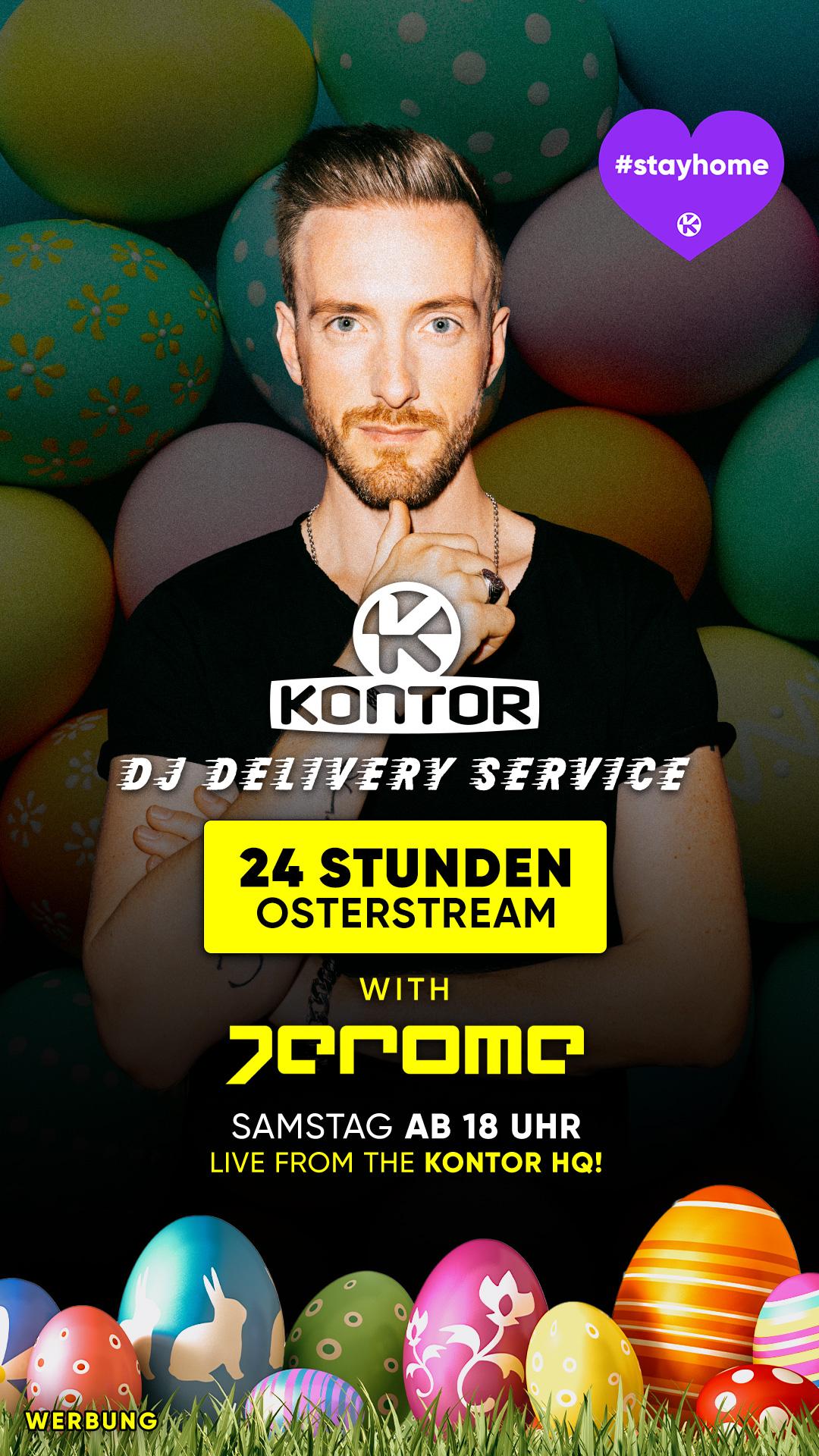 Oster-Stream live mit Jerome