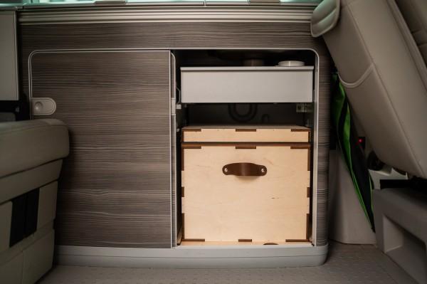 Kildwick MicroLoo im VW T6 California (© Kildwick 2021 - Florian Manhardt )