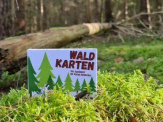 Waldkartensuchspiel macht langweilige Familienspaziergänge zum Abenteuer
