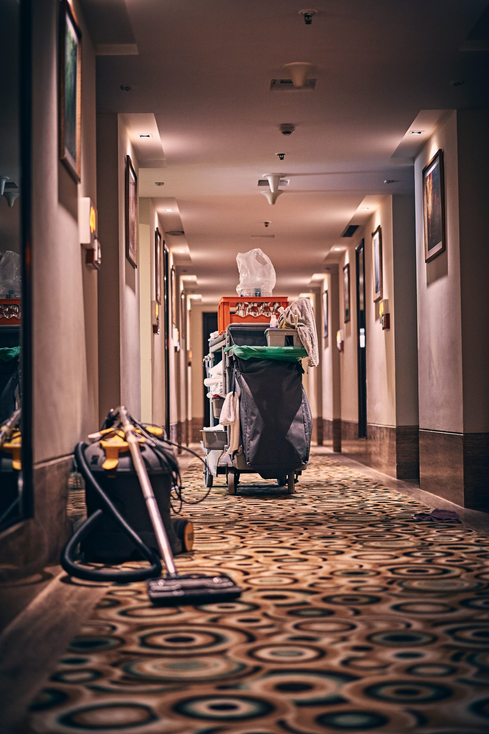 Gewerbliche Reinigungdienste sind besonders bei großen Firmen gefragt