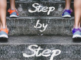Schritt für Schritt die Karriereleiter hoch
