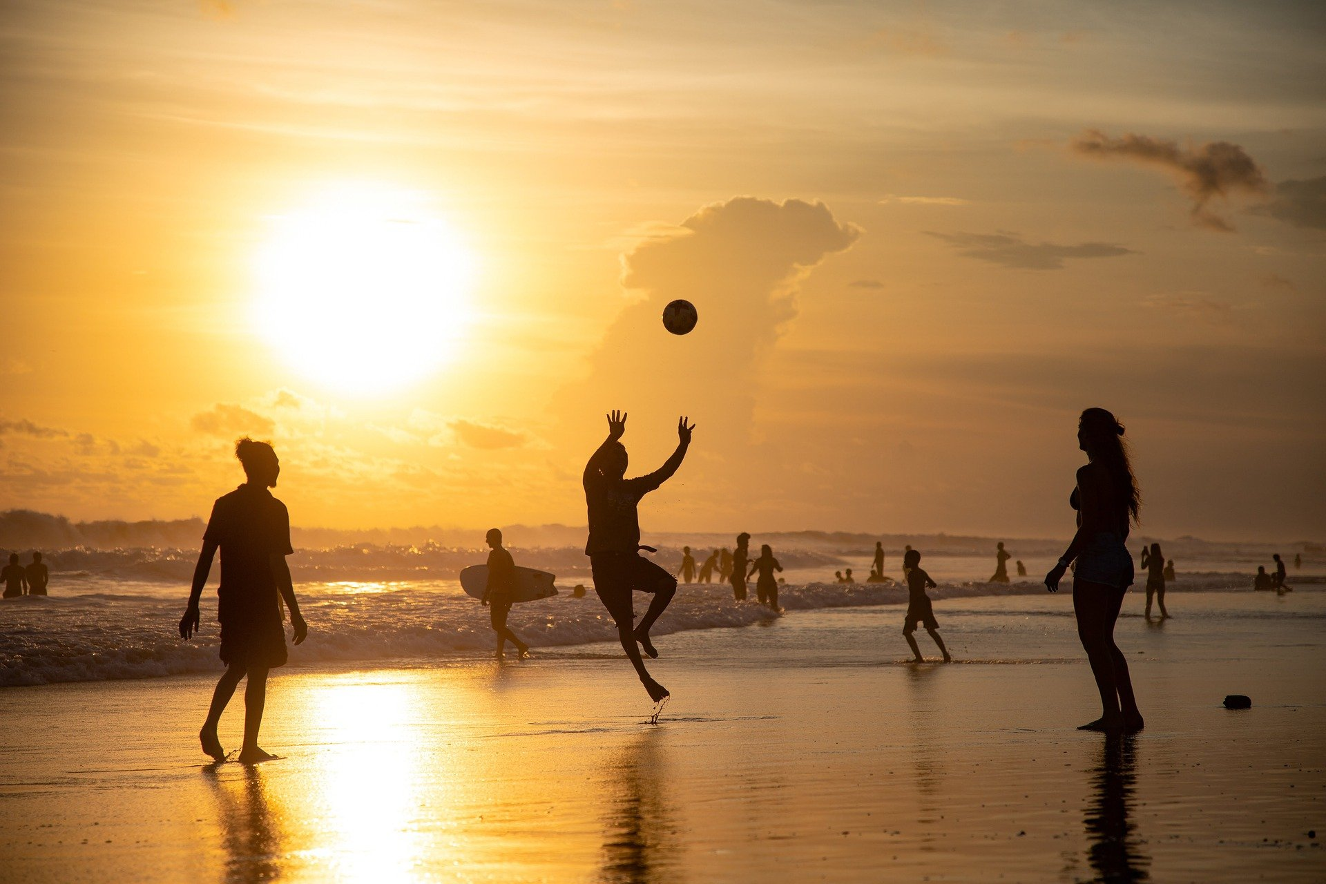 Sunset Urlaub