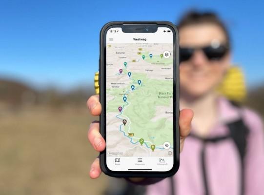Wanderfreund ist der neue digitale Guide für Weitwanderwege in Deutschland (© Wanderfreund Trails UG (haftungsbeschr.))