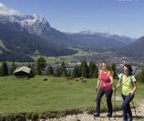 Cover Wanderführer Garmisch-Partenkirchen Band 1 (© AM-BERG Verlag)