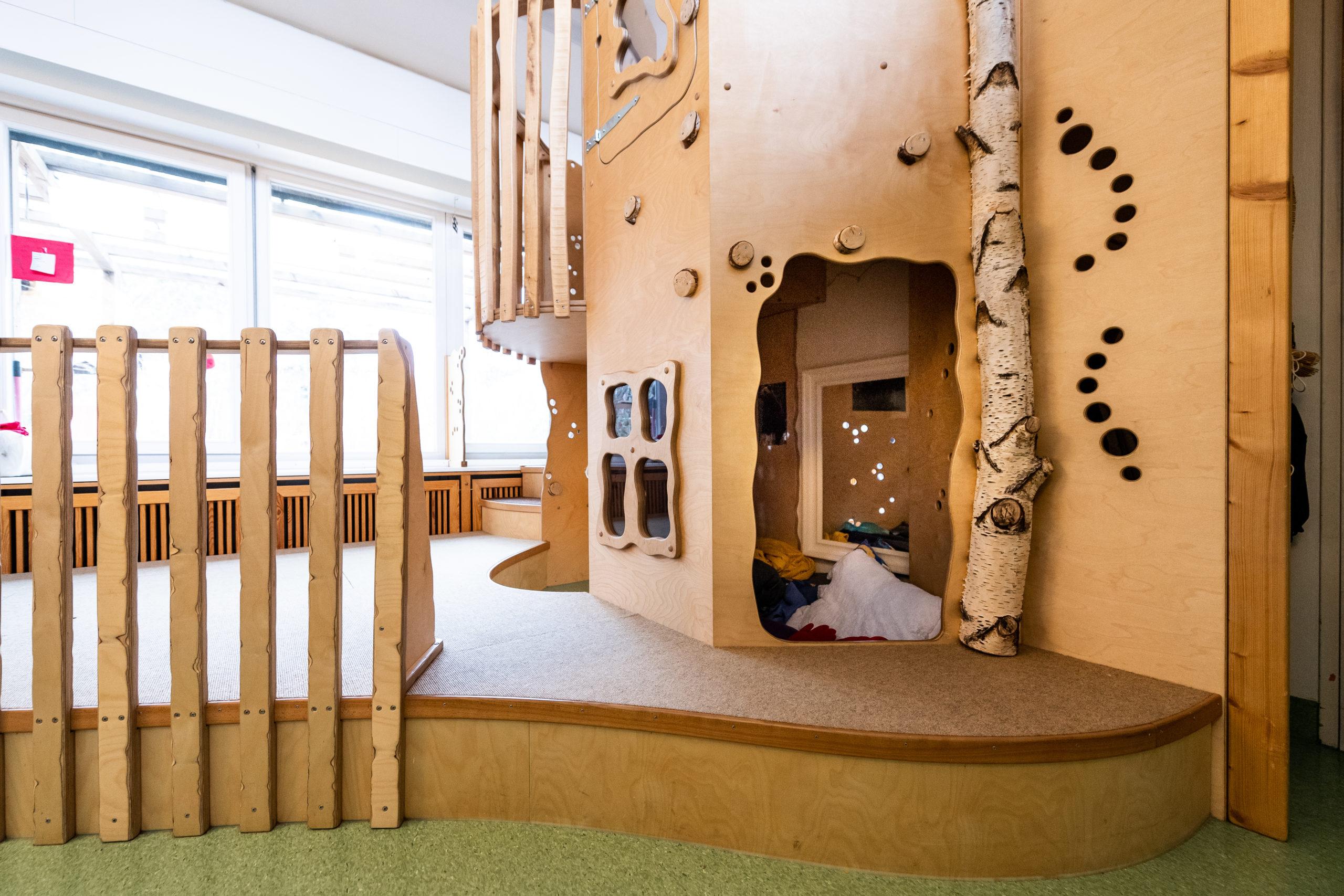 Spielzimmer in der neuen Kinderpsychiatrie