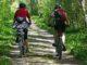 Schönes Radtouren rund um und in Hamburgs Natur