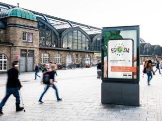 Ecosia launcht ihre erste Außen- und TV-Werbekampagne in Berlin und Hamburg
