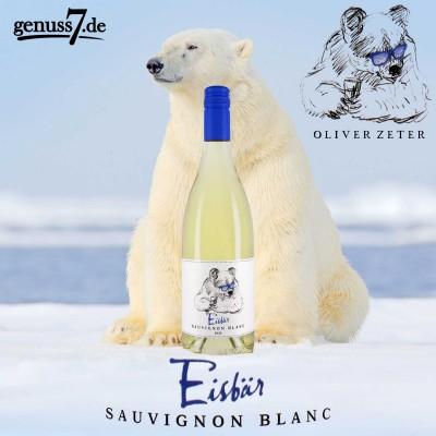 Eisbär Sauvignon Blanc von Oliver Zeter - Keiner ist cooler! (© genuss7.de GmbH)