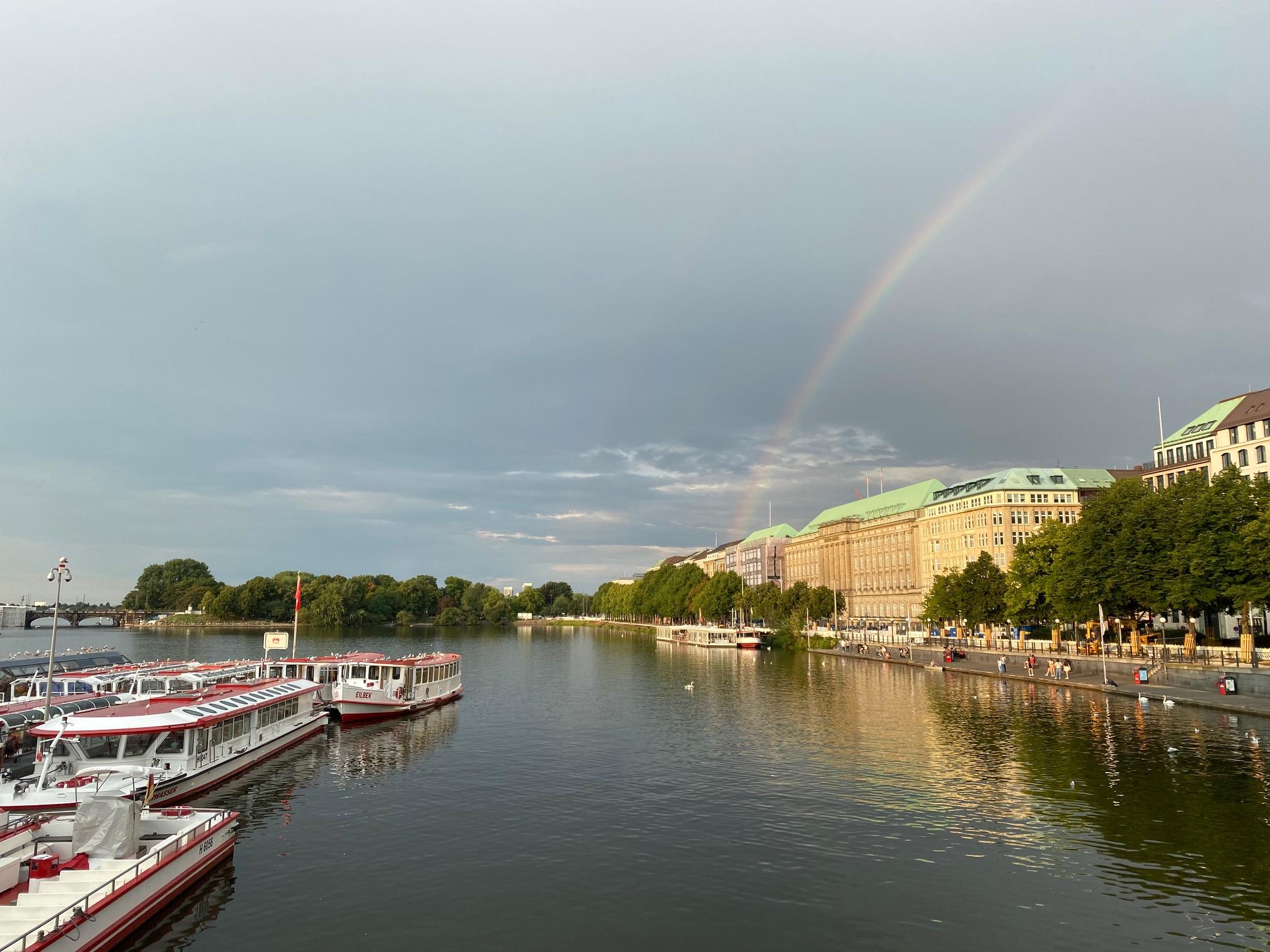 Hamburg ist immer ein Erlebnis