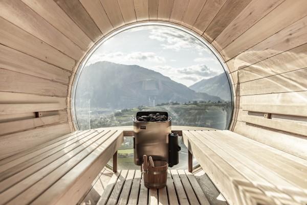 Sauna-Ausblick im Romy & Johannes Guesthouse (© Tiberio Sorvillo)