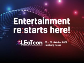 Neue Convention für Entertainment Technologies 26.-28. Oktober 2021 in Hamburg