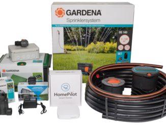 Smarte Rasenbewässerung