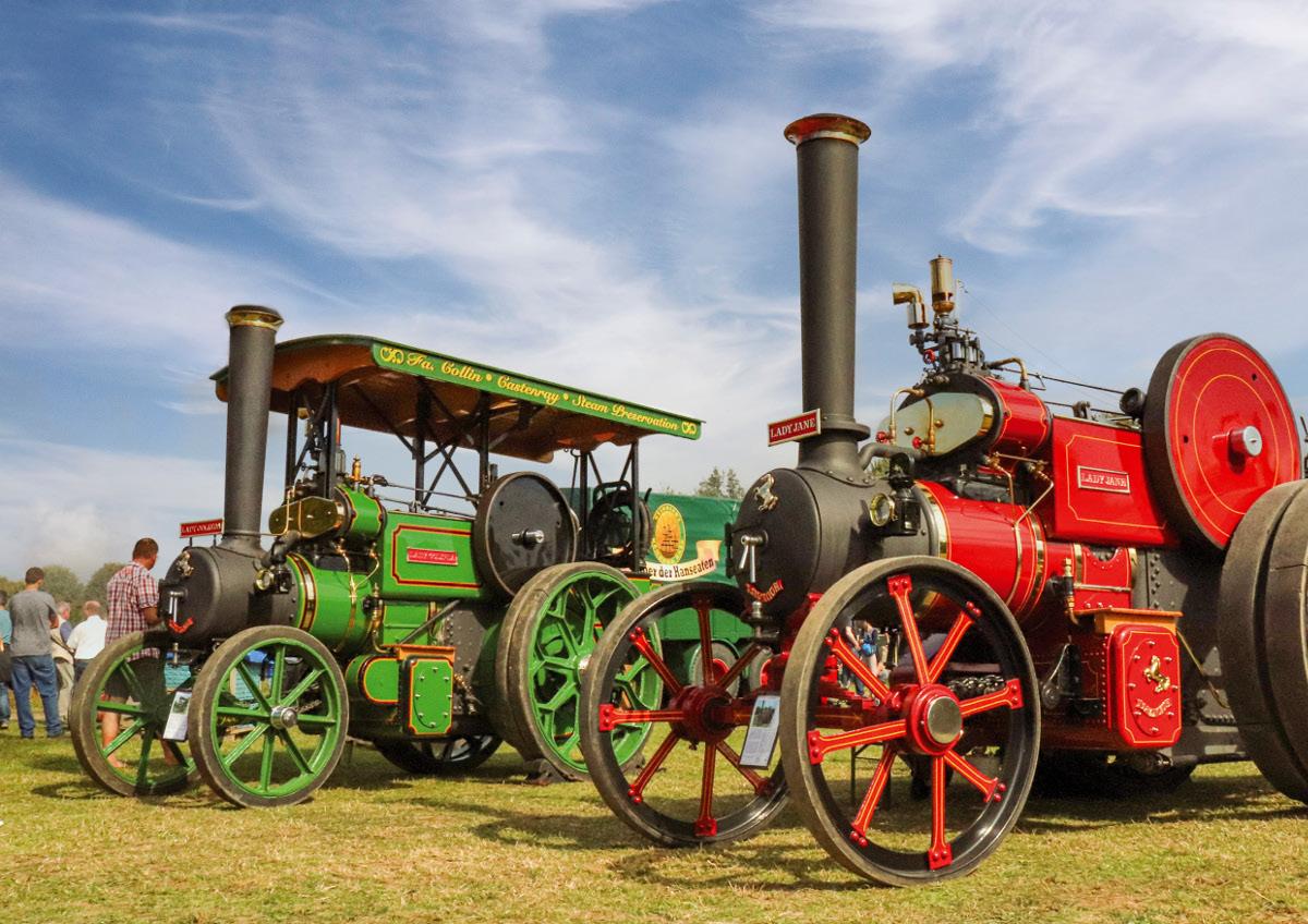 Dampf- und Traktorentreffen