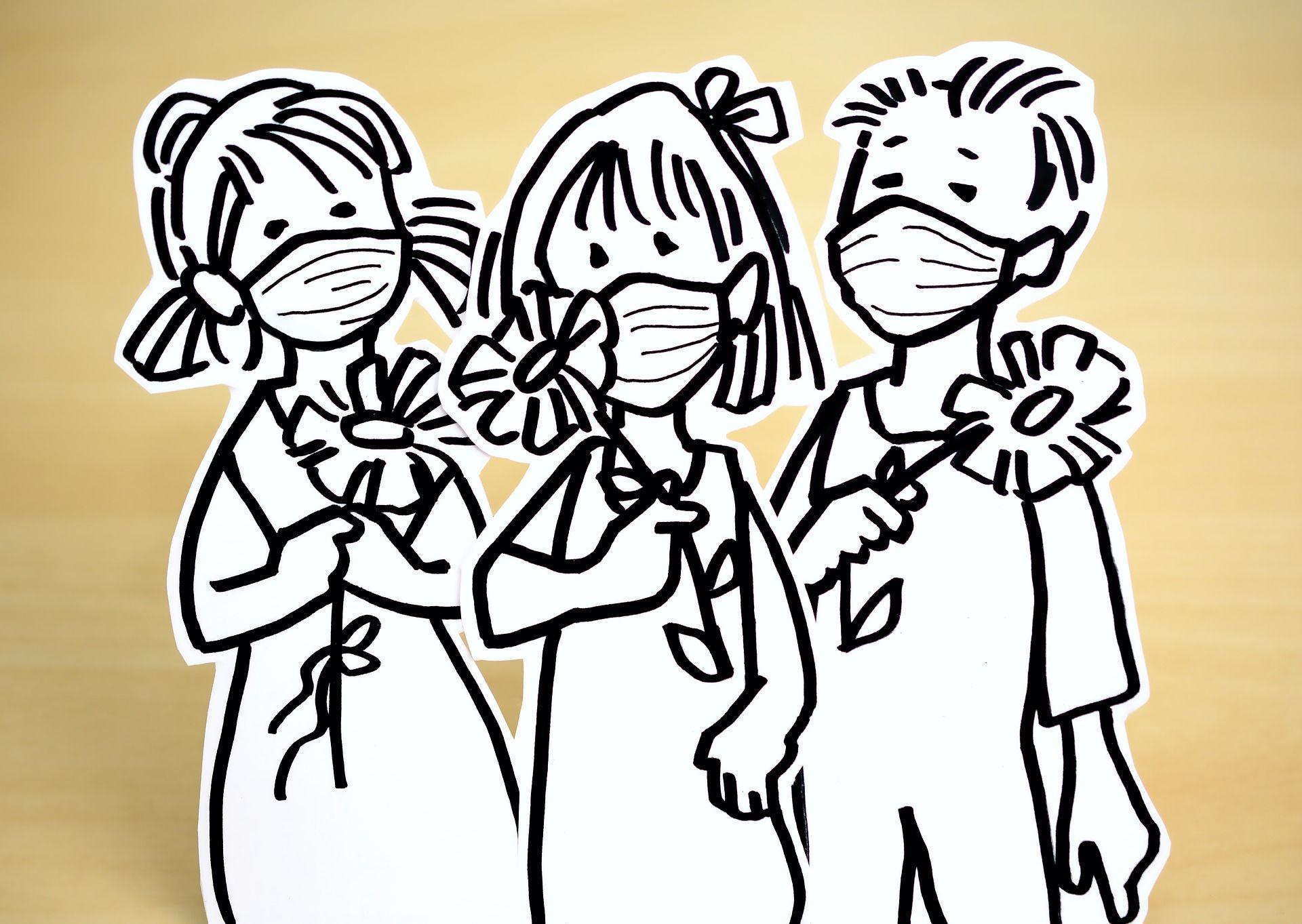 Die ganze Welt trägt Mundschutz