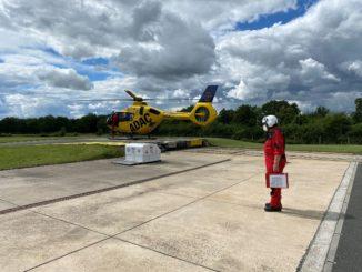 Deutschlands dienstältester Rettungsassistent fliegt letzten Einsatz