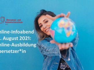 Einjährige Online-Ausbildung staatlich geprüfter Übersetzer (m/w/d) in fünf Sprachen (© AdobeStock_213336121)