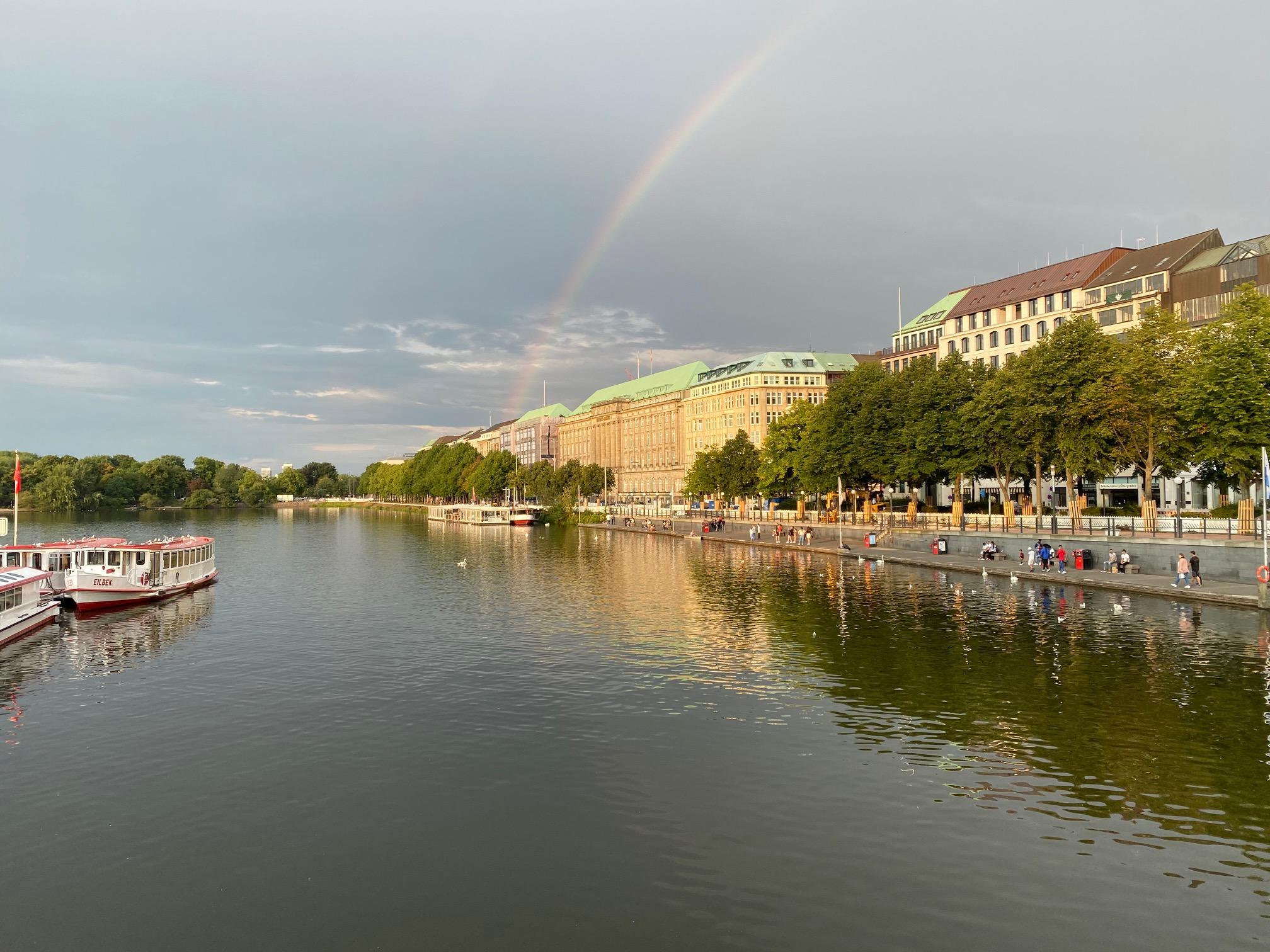 Hamburg ist ein Touristenmagnet