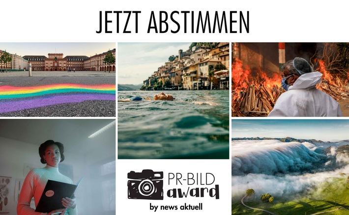 Startschuss für das öffentliche Voting: Die Shortlist des PR-Bild Award von news aktuell steht. Bis zum 1. Oktober 2021 kann die Öffentlichkeit über 60 Bilder aus sechs Kategorien abstimmen.