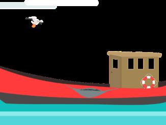 Oft weden alte Fischkutter zu Wohnbooten umgebaut